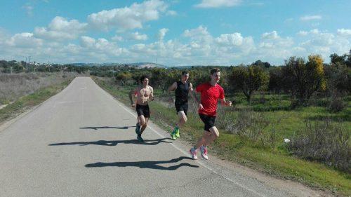 von rechts: Michael, Tobias und Phillipp